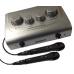 Karaoke Converter + 2 Microphones